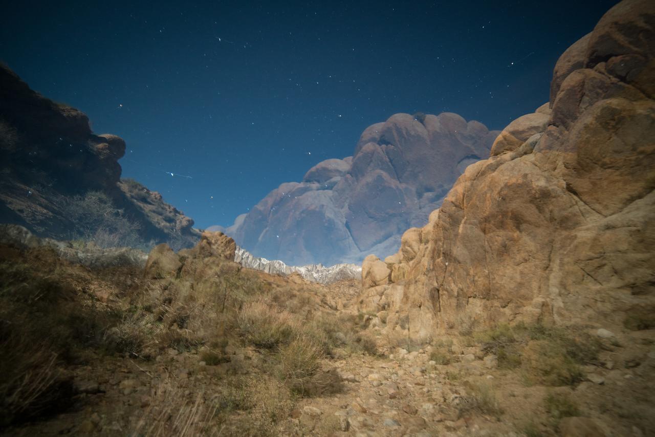 double exposure alabama hills califonia