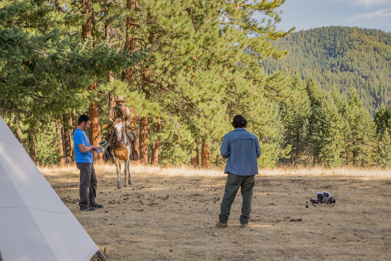 tv show filming The Boonies